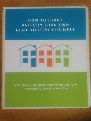 Rent to Rent Rent2Rent Subletting How To Property Course Make Money Opportunity