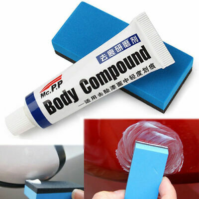 Car Auto Body Compound Scratch Repair Paint Care Polishing Grinding Car Wax 15g