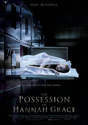 THE POSSESSION OF HANNAH GRACE - Orig.Kino-Plakat A1 - Horror - Gerollt