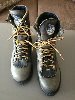 41bb99f521b GEORGIA LACE-TO-TOE STEEL Toe Waterproof Work Boot GBOT053 - $150.00 ...