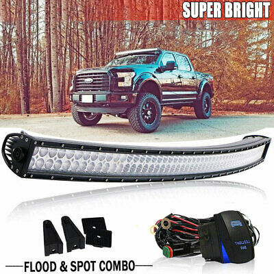 2x 8inch 36w Philips Led Light Bar Slim Spot Lamp Ute Ford Truck With Wiring Kit Lawrensongroup Co Nz