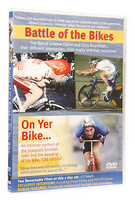 New Cycling Dvd, Battle Of The Bikes & On Yer Bike, The Graeme Obree Story