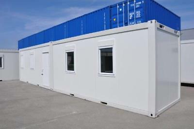 Portable Modular Building - 2 bay 40' x 8' - Ideal Office, Canteen etc