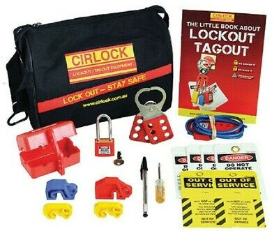 Repelec CIRLOCK CONTRACTOR LOCKOUT KITS & ACCESSORIES 22-Tools Standard Size