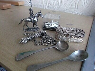 Assorted Lot of Silver Plated Items