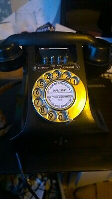 Bakerlite Telephone Vintage Collectible from 1950s -  Free Delivery