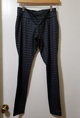 fe7934ab9f7b2 Mossimo Women's Geometric Triangle Leggings Size M Pullup Athletic Workout  Gear