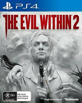 The Evil Within 2 PS4 Playstation 4, NEW SEALED GENUINE AUSTRALIAN RELEASE