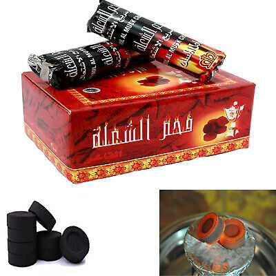 Shisha  Charcoal Discs Tablet Rolls for Hookah /Burner/Bakhoor Incense/Nakhla