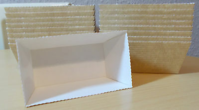 Mini Easi Bake Kraft Loaf Trays/Moulds Disposable Free Postage 1St Class Post