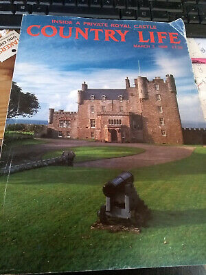 Country life magazine, 03/03/1988, Inside a Private Royal Castle, Castle of Mey