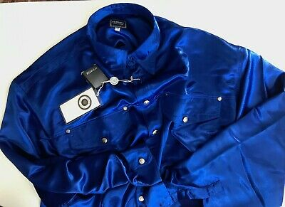 shirt camicia GIANNI VERSACE JEANS COUTURE vintage 90's  TG XXL NUOVA! RARE!