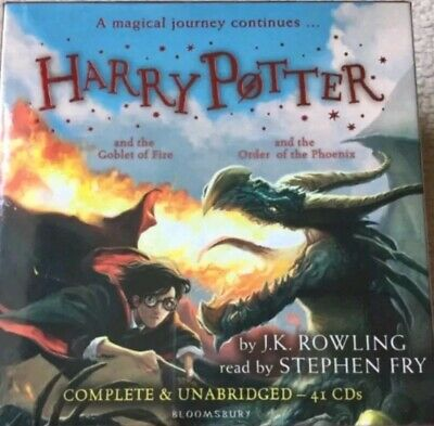 Harry Potter Books 4-5: Audio Collection - 41 CDs ** new and factory sealed *07*