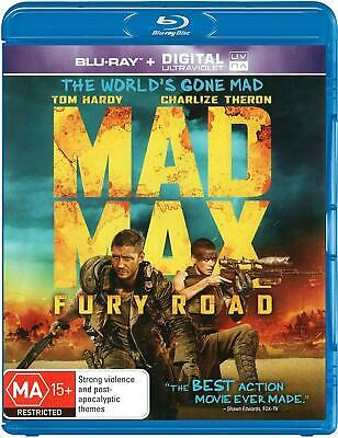 MAD MAX FURY ROAD New Blu-Ray - TOM HARDY NEW SEALED AUSTRALIAN RELEASE