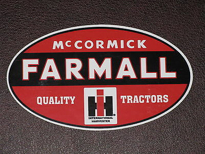 FARMALL VINYL STICKER DECAL INTERNATIONAL HARVESTER McCORMICK HI TRACTOR MOWER