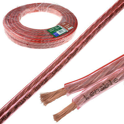 10m Speaker Cable 14AWG 2.5mm2 Thick CCA 142 x 0.15mm2 Wire Home HiFi Car Audio