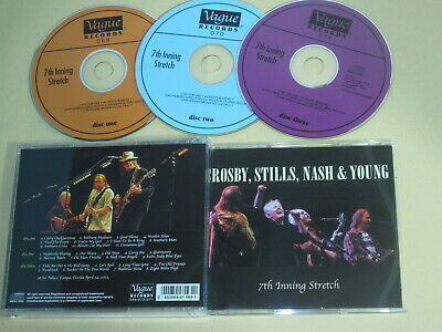 Crosby Stills Nash And Young - 7th Inning Stretch / Vague / 2002 USA 3CD