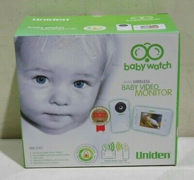 Uniden Digital Wireless Baby Video Monitor System BW2101