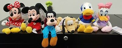 Disney Bean Bag Plush Toy Beanie Babies Collectable with tags Lot 3