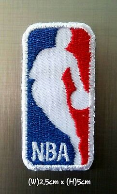 NBA Small(2.5x5cm) Basketball Sport Patch Logo Embroidery Iron,Sew on Clothes