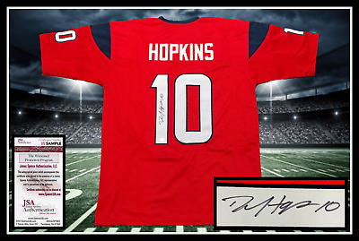 f78f7e425 DEANDRE HOPKINS AUTOGRAPHED SIGNED Houston Texans Authentic Speed ...