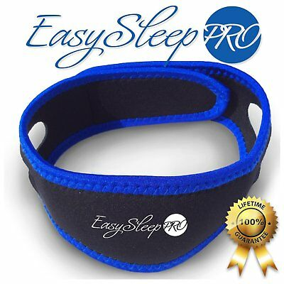 Stop Snoring Chin Strap Blue One Size Adjustable