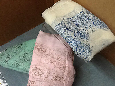 Women's Lightweight Scarves Assorted Colors and Designs--You Choose!