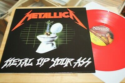 Metallica - Metal Up Your Ass - Rare Music For Nations Ltd Edition Color Vinyl