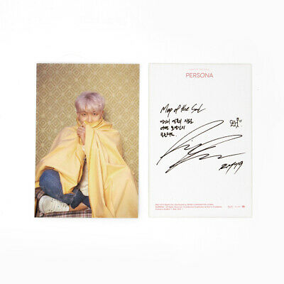 [BTS]MAP OF THE SOUL:PERSONA Official Postcard / Boy With Luv Postcard / RM
