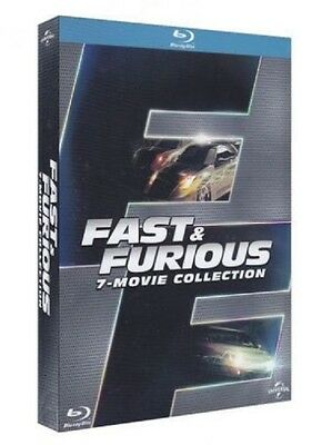 Fast And Furious - 7 Film Collection (7 Blu-Ray) Cofanetto Walker