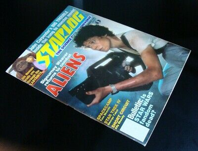 Original Starlog Magazine #109 August 1986 Aliens, Big Trouble In Little China