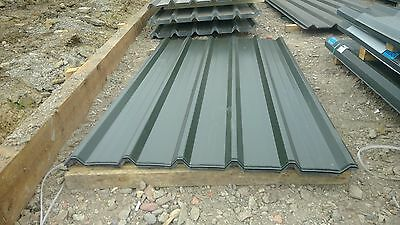 polyester .5mm agricultural buildings juniper green Box Profile steel  Sheets