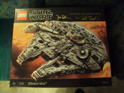 "Lego Star Wars: ""Millennium Falcon Ultimate Collector"" Series 75192, Signed"