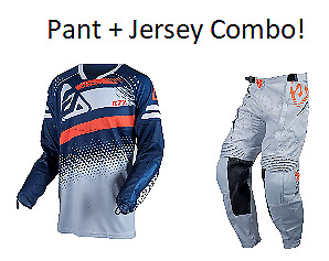 2019 Answer Racing K77 Navy/Gray Combo Hot Weather dirt off road atv