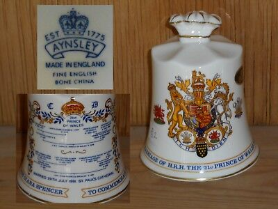 Exquisite Aynsley Bell – Prince Charles & Princess Diana - 1981