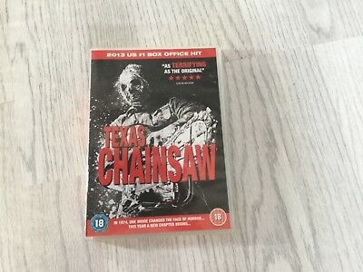 Texas Chainsaw 2013 Version dvd film, watched once.