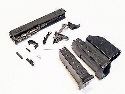 GLOCK 43 LOWER Parts Kit For 9mm SS80 80% Build  All Glock Factory