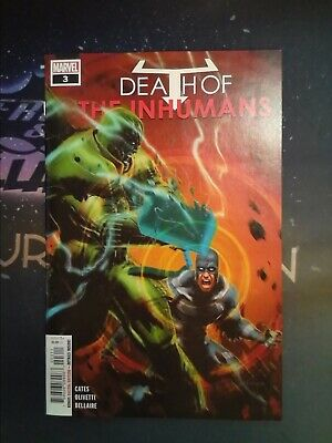 Death of the Inhumans #3 Marvel Comics VF/NM 9.0 (CB5568)