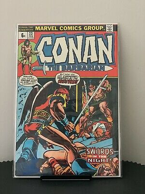 Conan The Barbarian  #23  1st Red Sonja, Grade VFN