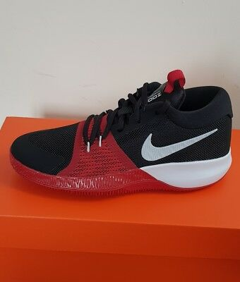 Nike Zoom Assersion Women/Girls Black Mesh Athletic Lace Up Training S Hoes 4.5