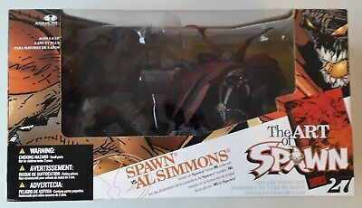 Spawn vs Al Simmons The Arte Of Serie 27 Figura de Acción Mcfarlane Juguetes