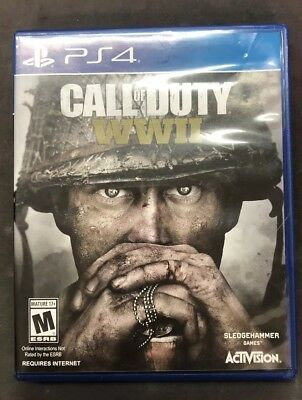 CALL OF DUTY: WW2 WWII PS4 (Playstation 4, 2017) COD World War 2 -COMPLETE