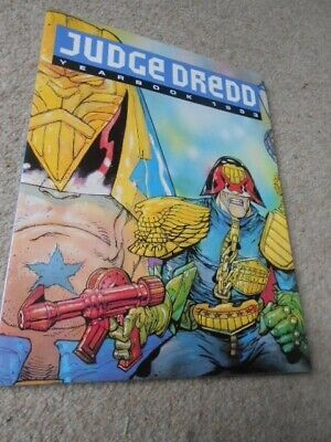 Judge Dredd Yearbook 1993 2000Ad - Mint Condition