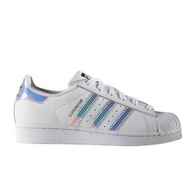 save off 1ccac 804c4 Sneakers ADIDAS SUPERSTAR J ARGENTO METAL Scarpe Donna Ragazzo AQ6278