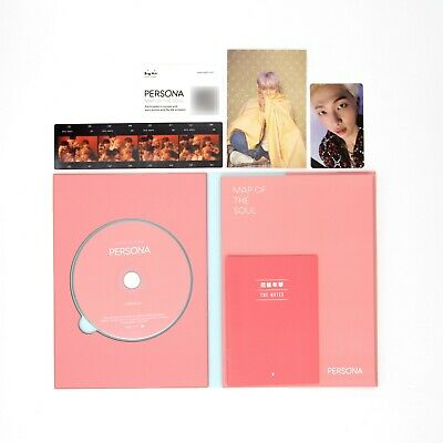 [BTS]MAP OF THE SOUL:PERSONA/Boy with Luv/Ver. 4/Album+RM pc