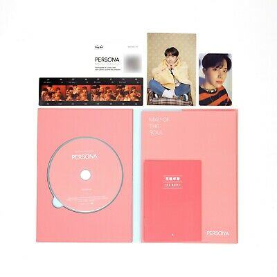 [BTS]6th mini Album-MAP OF THE SOUL:PERSONA/Boy with Luv/Ver. 4/Album+J-Hope pc