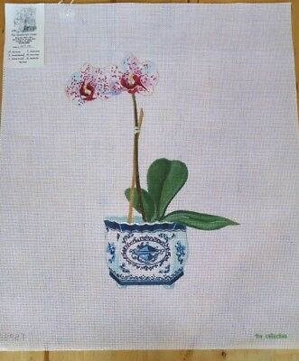 Orchid HP Needlepoint canvas