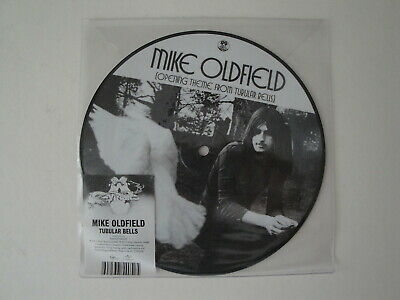 """Mike Oldfield: Opening Tema From Tubular Campanas 7"""" Vinilo Foto"""