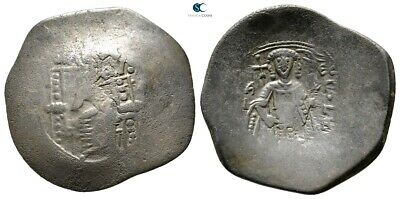 Savoca Coins Isaac II Angelus Trachy Constantinople 4,59 g / 29 mm @PEP10128