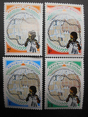 Biafra 1969 2nd Anniversary of Independence SG 35-38 MNH (see photos) Civil War